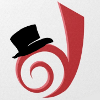 """signalboost: The dreamwidth """"d"""" with a top hat perched on it. (top hat)"""
