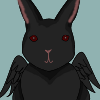 rabbitrabbitrabbit: (Black - /人◕ ‿‿ ◕人\)