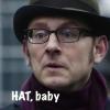 hedda62: Harold Finch in his HAT (hat baby)