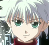branchandroot: Killua looking wry (Killua wry)
