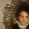 pensnest: Colin Firth as Mr Darcy represented as a portrait in an ornate oval frame (Mr Darcy)