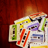 raanve: A pile of colorful cassette tapes (Mixtapes)