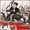 tourniquette: A victorian schoolteacher canes a naughty boy. (BDSM)