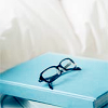 jaxadorawho: (MISC ☆ Reading ~ book with glasses)