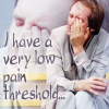 pebblerocker: Vila from Blake's 7: I have a very low pain threshold (vila pain)