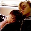 thursdayeuclid: HK and Boyd snuggled up. Aww. (!shiny boys)