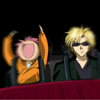 piranha: shuichi & yuuki on a rollercoaster (rollercoaster)