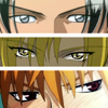 piranha: sexy eyes of 3 anime characters (the eyes have it)