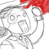 teal_deer: retarded myst fandom; art is a portrait of me. sort of.  (LOLOL RED PAGEZ)