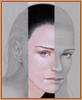 branchandroot: face looking through gray (looking through gray)