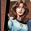 seekingferret: Kitty pryde wearing a Magen David necklace. (Kitty-Jew)