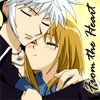 chomiji: From Fruits Basket: Hatsuharu comforting his young cousin Kisa (Hatusharu and Kisa - comfort)