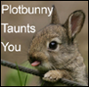 branchandroot: bunny sticking out its tongue (plotbunny taunts you)