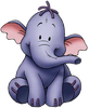 kshandra: Portrait of Lumpy from Pooh's Heffalump Movie (Heffalump)