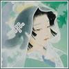 branchandroot: veiled lady on green (Ryokufuu)