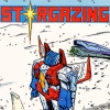 sharpest_asp: Caption says Starsgazing above Starscream in the snow, looking up (Transformers: Starscream)