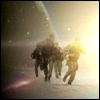 yvi: SG-10 running away from the black hole (Stargate - SG10)