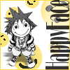 tsukinofaerii: Sora with a happy face (Happy Face)