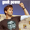 magycmyste: Text: geek power (Geek power!)