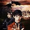 bethbethbeth: BBC Merlin promo: Merlin, Arthur, dragon (Merlin  (petiteprune))