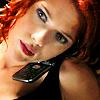 veleda_k: Natasha from the Avengers, on the phone. (MCU: Natasha phone)