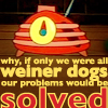 brenna: Why, if only we were all weiner dogs, our problems would be solved (radio logic)