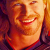 genarti: Thor grinning enthusiastically. ([mcu] thor says :D!)