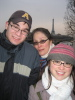 e_musings: (me, the kids and the tower eiffel)