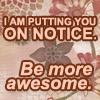 miintikwa: (Be More awesome)