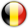 travelingmonkey: Belgian flag as button (belgium)
