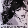 "samvara: Photo of Modesty Blaise with text ""All this and brains as well"" (Default)"