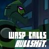 locoexclaimer: (wasp calls bullshit)