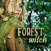 wolfkin: Forest Witch by magic_art site (Forest Witch)