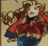 talkswithwind: Carol Danvers having a good hair moment (CarolGoodHair)