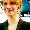 highways: [Pepper Potts from 2009's Iron Man, smiling.] (MARVEL ☌ when it hurts to smile)