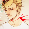 anotherdirkstrider: Dirk with his throat cut. (decapitation)
