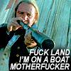 dreamwaffles: (I'm on a boat)