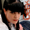 "rebecca2525: Abby Sciuto from NCIS with the word ""geek"" (abby geek)"