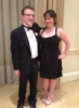 adam_in_rabbinical_school: Me and Emily at the Kaufman dinner (Emily)