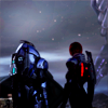 pearwaldorf: shepard and garrus on menae (me - s&g menae)