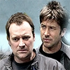lovesrain44: Serious Rodney and John (Hutch Coffee)