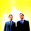 rinja: harvey & mike are badasses (suits) (the one-two punch team)