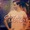 "glassalice: ""Captain Sadness"" (captain sadness)"