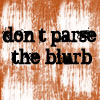 shuchubi: Don't parse the blurb (blurb)