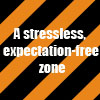 shuchubi: a stressless, expectation-free zone (zone) (Default)