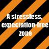 shuchubi: a stressless, expectation-free zone (zone)