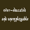 shuchubi: Overeducated and unemployable (unemployable)