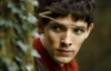 josephine_marrs: Merlin peeking around an ivy-covered something. (pic#6262690)