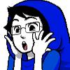 ficklepenguin: john egbert gasping like a cutie (gasp, homestuck, john)