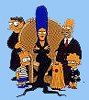 wednes: (Addams/Simpsons)